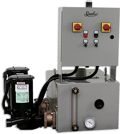 4700 Series Boiler Feed Unit Duplex Image by Sterlco® Steam Control Products